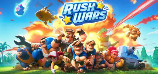 Supercell officially announced the beta release of a new game called Rush Wars