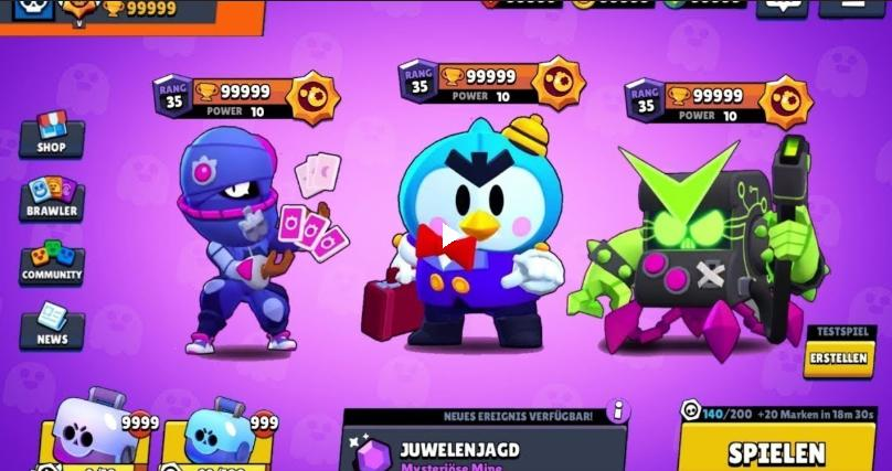 Null's brawl with the new brawler Mr. P and new skins