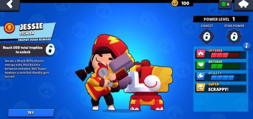 Update Brawl Stars 27.266 mod with Nani v2 (New skin on Jesse)