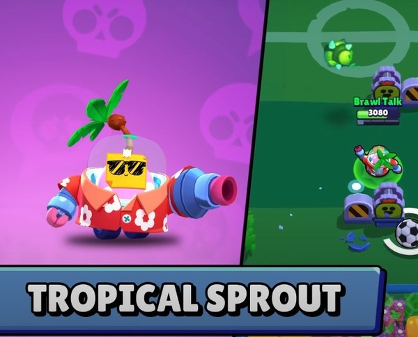 Tropical Sprout skin