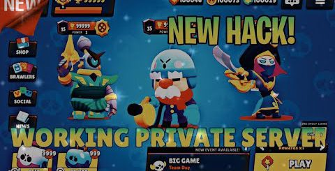 Brawl Stars Private Server with Gale!