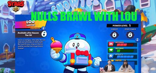 DOWNLOAD NULLS BRAWL 31.81 WITH NEW BRAWLER LOU
