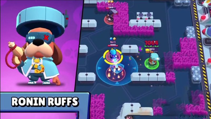 BRAWL STARS PRIVATE SERVER WITH NEW BRAWLER RUFFS